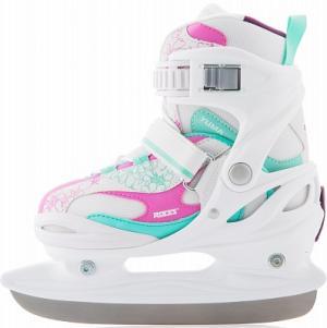 Ледовые коньки раздвижные для девочек  Yuma Girl Roces