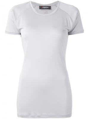 Классическая футболка Jo No Fui. Цвет: серый