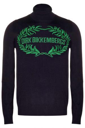Джемпер Dirk Bikkembergs. Цвет: синий