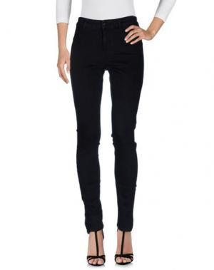 Джинсовые брюки SET. Цвет: черный