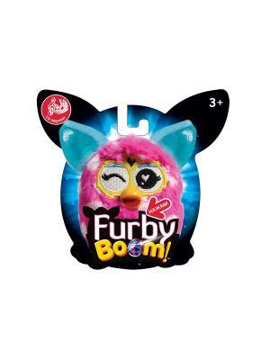 Плюшевая игрушка 11 см со звуком, блистер 1toy Furby. Цвет: сиреневый
