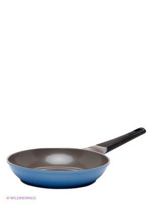 Cковорода Frybest. Цвет: голубой