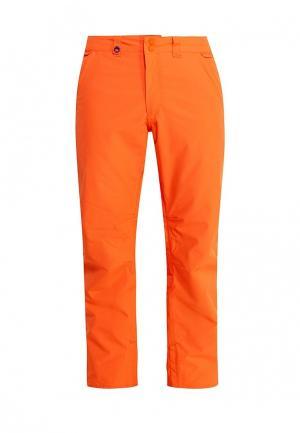 Брюки горнолыжные Quiksilver. Цвет: оранжевый
