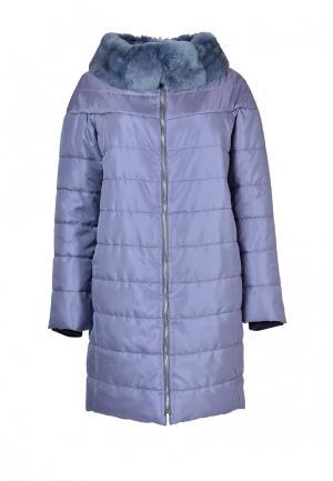 Куртка утепленная Grafinia. Цвет: фиолетовый