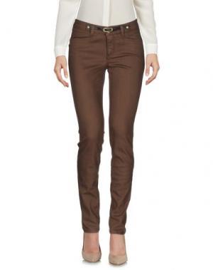 Повседневные брюки JECKERSON. Цвет: какао