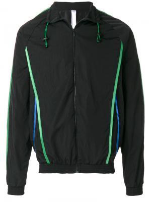 Легкая спортивная куртка Cottweiler. Цвет: чёрный