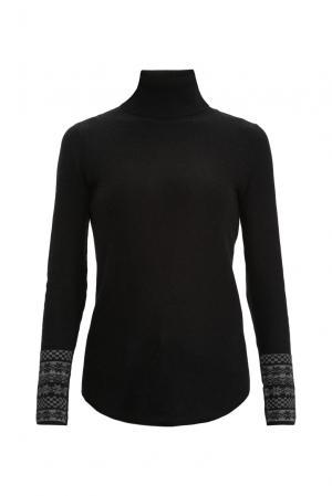 Джемпер из кашемира SF-156243 Skull Cashmere. Цвет: черный