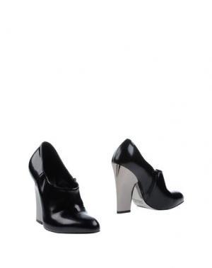 Ботинки SEBASTIAN. Цвет: черный