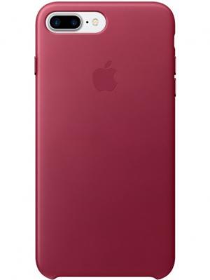 Чехол (клип-кейс) Apple для iPhone 7 Plus MPVU2ZM/A, темно-розовый. Цвет: темно-красный