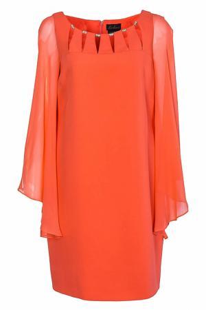 Платье Luisa Spagnoli. Цвет: коралловый