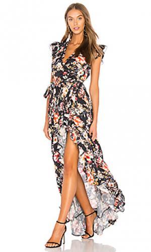 Платье colette RAVN. Цвет: черный