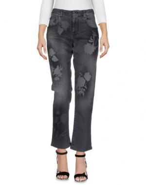 Джинсовые брюки CHRISTOPHER KANE. Цвет: серый