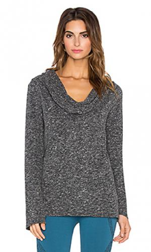Пуловер cozy NUX. Цвет: серый