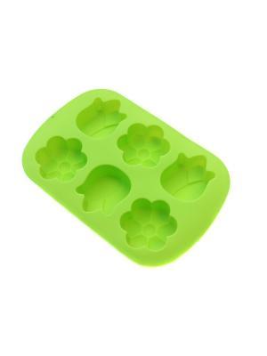 Силиконовая форма для кексов DiMi. Цвет: зеленый