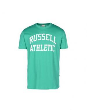 Футболка RUSSELL ATHLETIC. Цвет: светло-зеленый