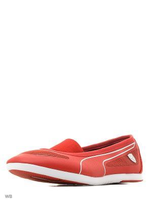 Кроссовки SF Ballerina Puma. Цвет: красный