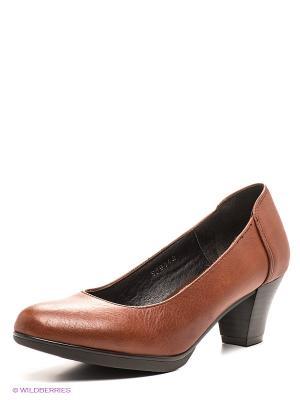 Туфли Valencia. Цвет: коричневый