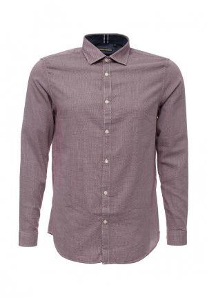 Рубашка Warren Webber. Цвет: бордовый
