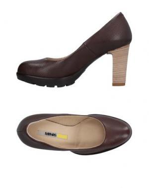 Туфли MANAS. Цвет: темно-коричневый