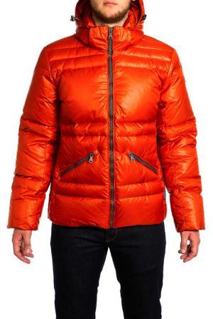 Куртка XASKA. Цвет: оранжевый