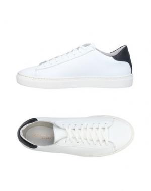 Низкие кеды и кроссовки ALBERTO MORETTI. Цвет: белый
