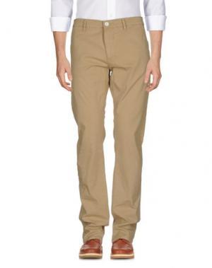 Повседневные брюки ELVINE. Цвет: песочный