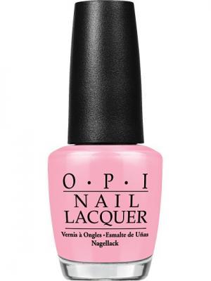 Opi Лак для ногтей Heart Throb, 15 мл. Цвет: розовый