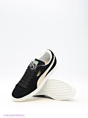 Кроссовки Puma. Цвет: черный, бежевый