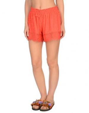 Пляжные брюки и шорты BLUMARINE BEACHWEAR. Цвет: красный