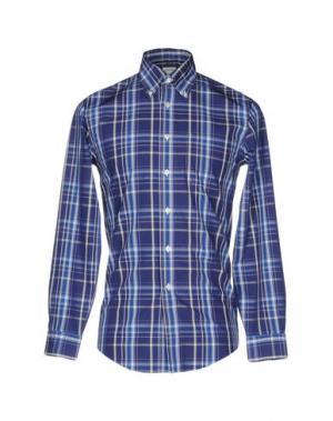 Pубашка BROOKS BROTHERS. Цвет: синий