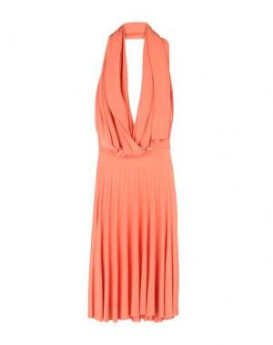 Короткое платье VON VONNI. Цвет: оранжевый