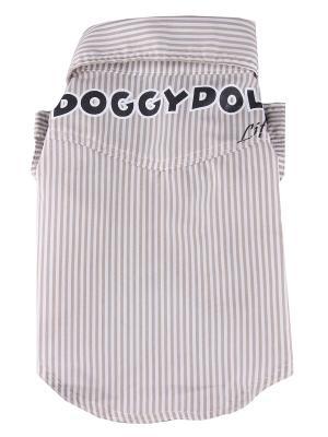 Рубашка Doggy Dolly. Цвет: коричневый