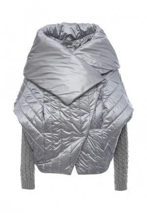 Куртка утепленная Conso Wear. Цвет: голубой
