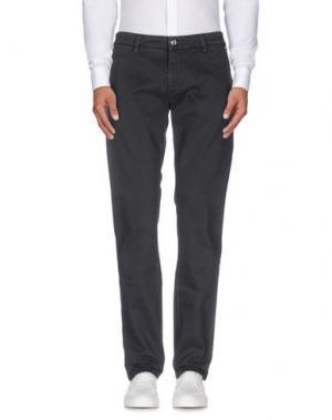 Повседневные брюки RE-HASH. Цвет: свинцово-серый