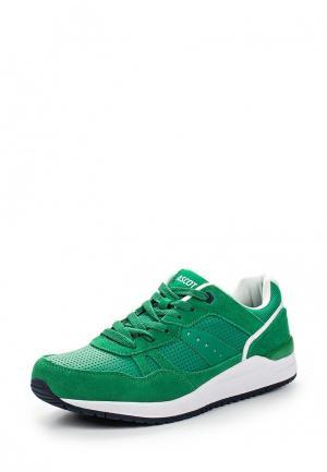 Кроссовки Ascot. Цвет: зеленый