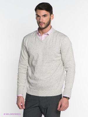 Пуловер Greg Horman. Цвет: светло-серый