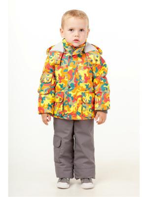 Комплект batik. Цвет: коричневый,оранжевый