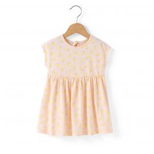 Платье с принтом лимон 1 мес-3 лет R édition. Цвет: набивной рисунок