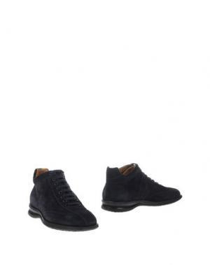 Полусапоги и высокие ботинки VALLEVERDE. Цвет: темно-синий