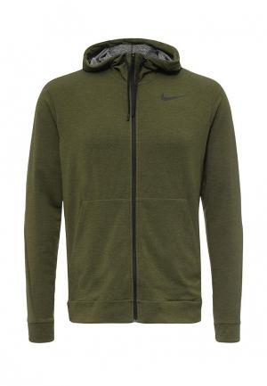 Толстовка Nike. Цвет: хаки