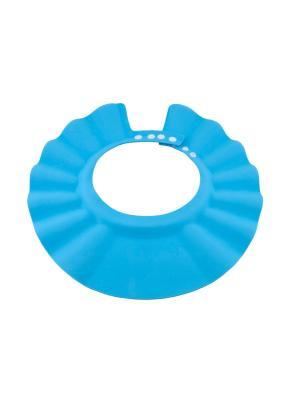 Детский козырек для душа Baby Swimmer голубой. Цвет: голубой