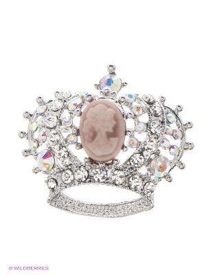 Брошь Lovely Jewelry. Цвет: розовый