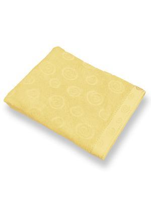 Полотенце махровое ZLATA KORUNKA. Цвет: желтый
