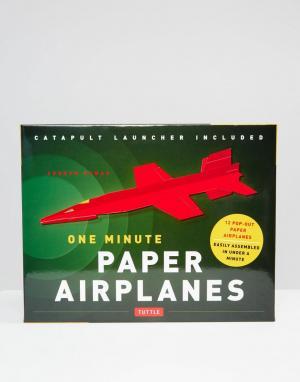 Books Набор бумажных самолетиков One Minute Paper Airplanes. Цвет: мульти