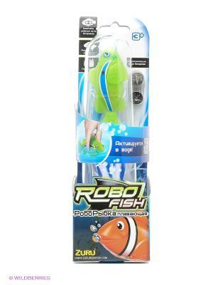 Робо-рыбка Клоун ZURU. Цвет: зеленый