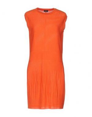 Короткое платье NEERA. Цвет: оранжевый