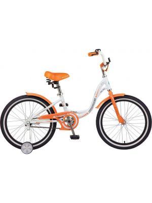Велосипед 16 ANGEL NOVATRACK. Цвет: белый