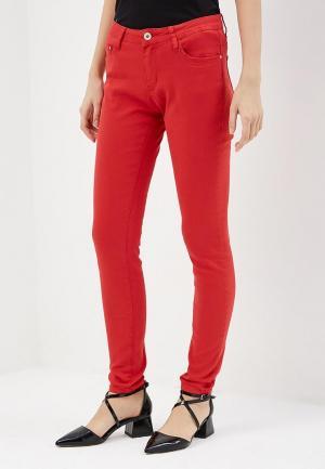 Брюки G&G. Цвет: красный