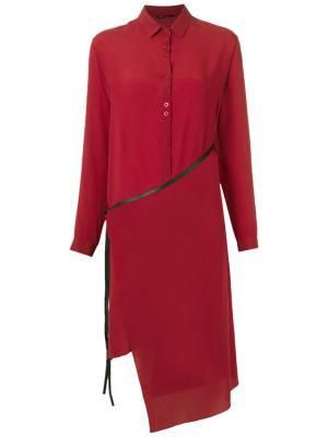 Shirt dress Uma   Raquel Davidowicz. Цвет: красный