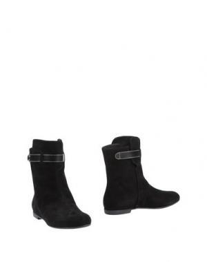 Полусапоги и высокие ботинки VICINI. Цвет: черный